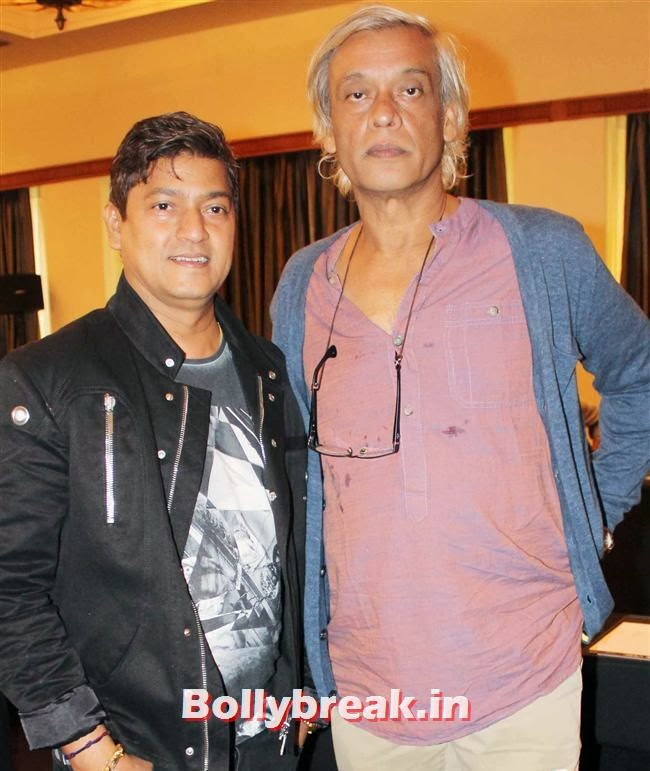 Aadesh Shrivastava and Sudhir Mishra, Mirchi Music Awards Jury Meet