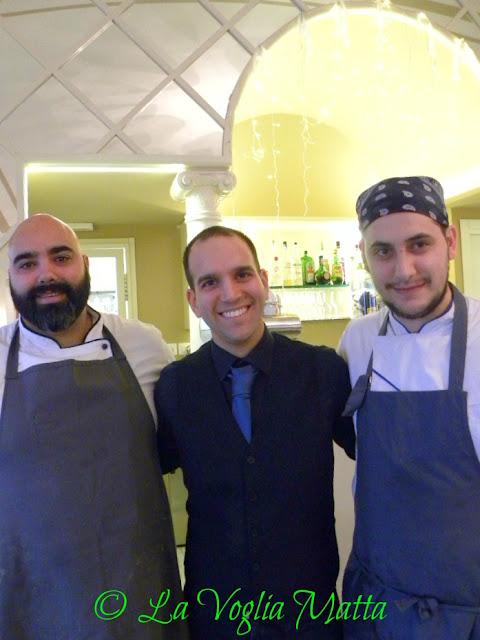 "Ristorante ""Elefante Bianco"" a Trieste lo staff"
