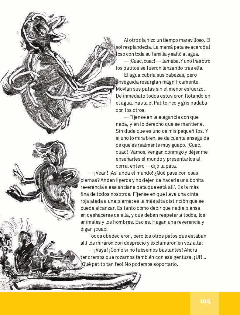El Patito Feo - Español Lecturas 4to ~ Apoyo Primaria