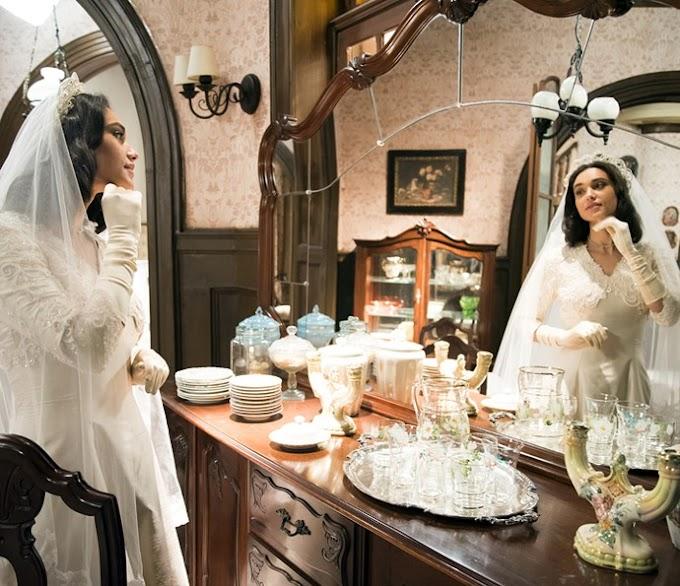 ►Veja o vestido de noiva   novela 