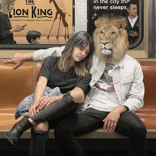 New York un Zoológico sin jaulas: Las pinturas surrealistas de Matthew Grabelsky