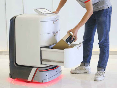 First delivery robot