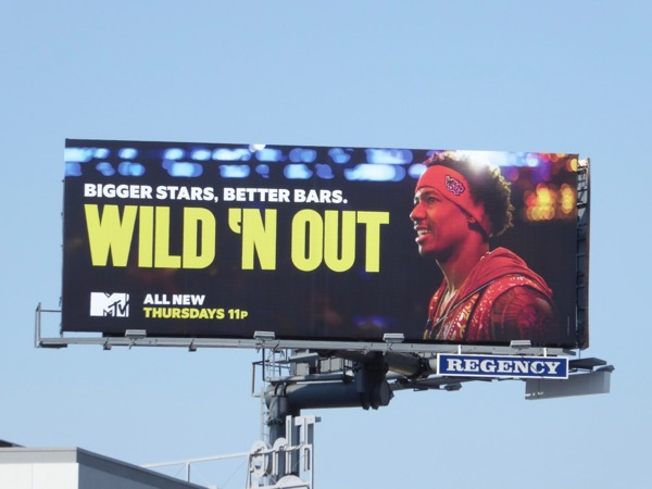 Wild N Out season 9 billboard