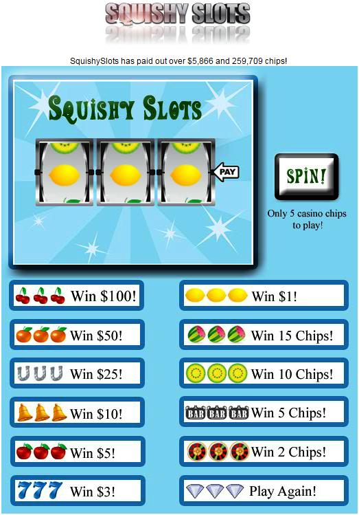 Squashy slots - Squishy cash