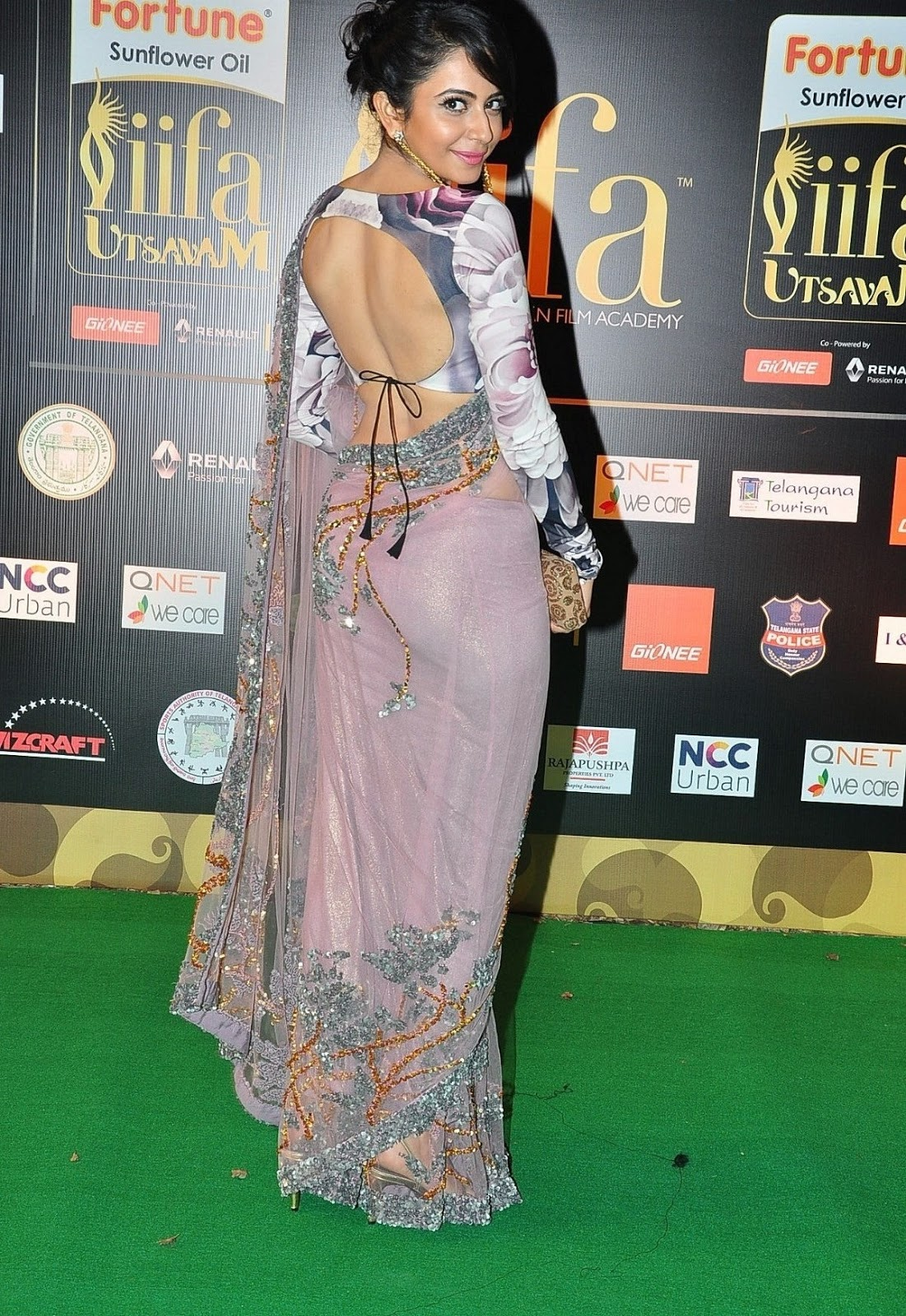 Rakul Preet Singh Stills At Iifa Utsavam