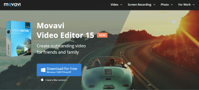 Movavi Video Editor - 15+ Best Video Editing Software For YouTube