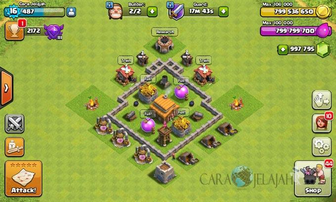 Desain Base Town Hall 3 Terbaik Dan Terbaru Clash Of Clans 29