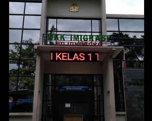 Alamat Telepon Kantor UKK Imigrasi Bojonegoro - Jawa Timur