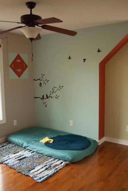Awalnya Saya Kan Konsep Montessori Untuk Bilik Imans Secara Ringkasnya Ni Macam Tilam Atas Lantai Perabot Bersaiz Dan Mesra Kanak