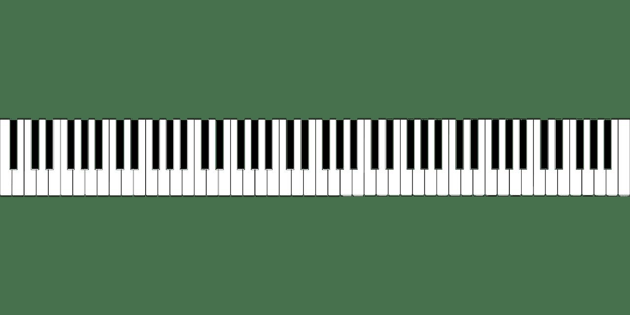 Jumlah tuts piano