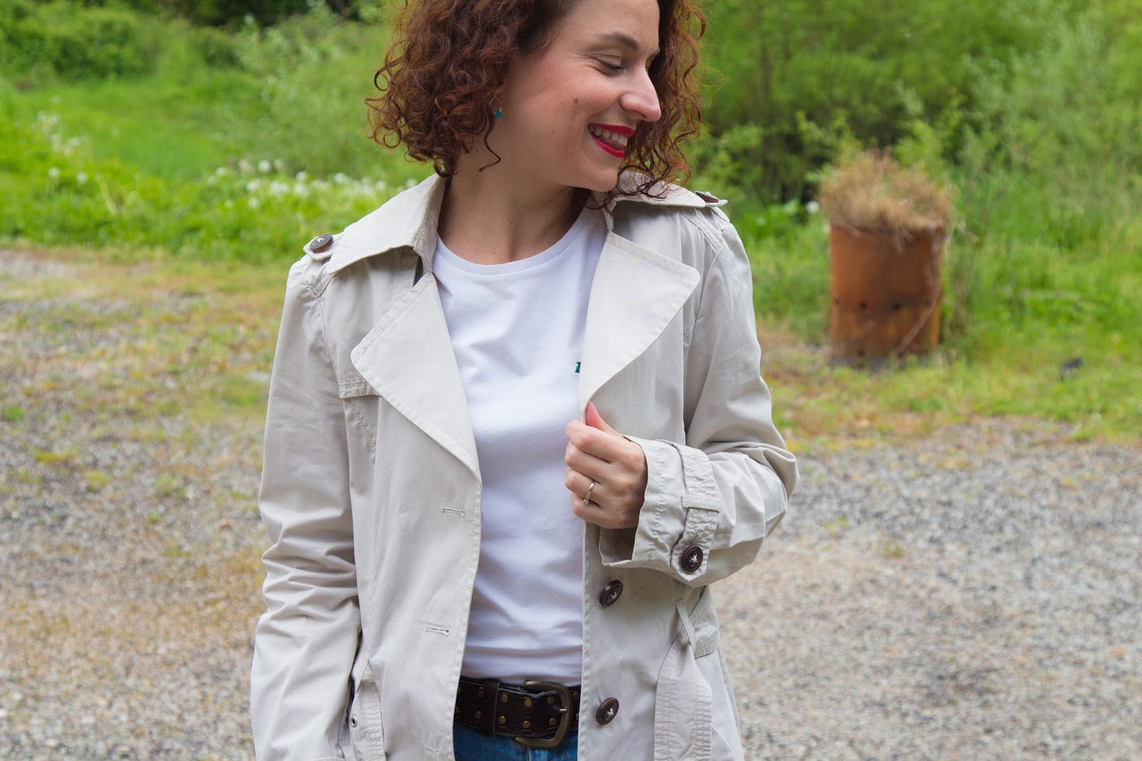 jean - boyfriend - promod - look - trench