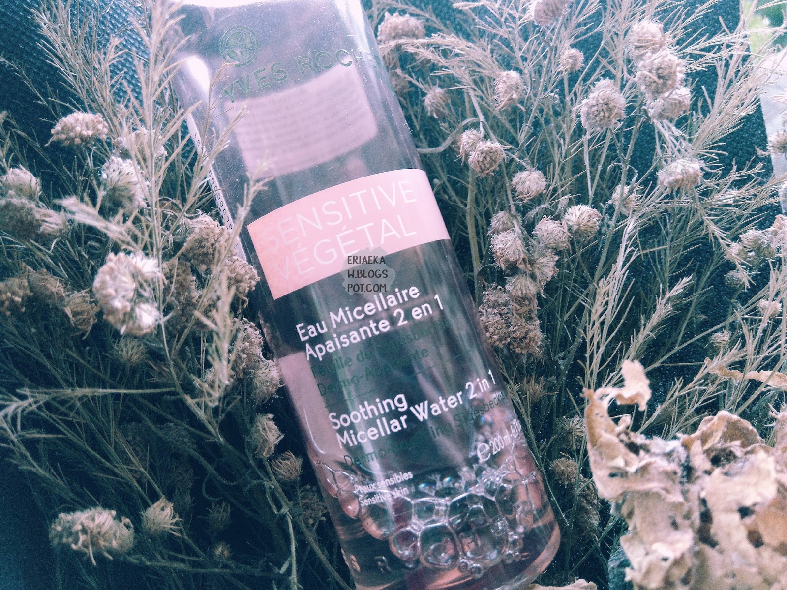 Yves Rocher Sensitive Vegetal Soothing Micellar Water 2in1 (Pink)