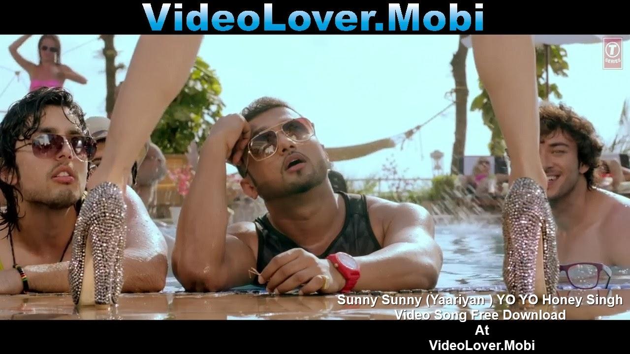 sunny sunny yaariyan yo yo honey singh video lover