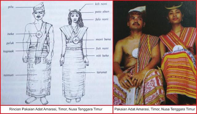 baju adat suku amarasi nusa tenggara timur