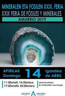 Feria Minerales Amurrio 2019