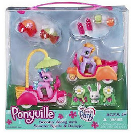 MLP Scooter Sprite Scootin' Along Accessory Playsets Ponyville Figure