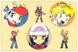 Phim Pokemon Diamon And Pearl Special