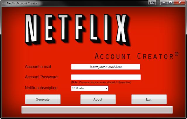 Free netflix account hack