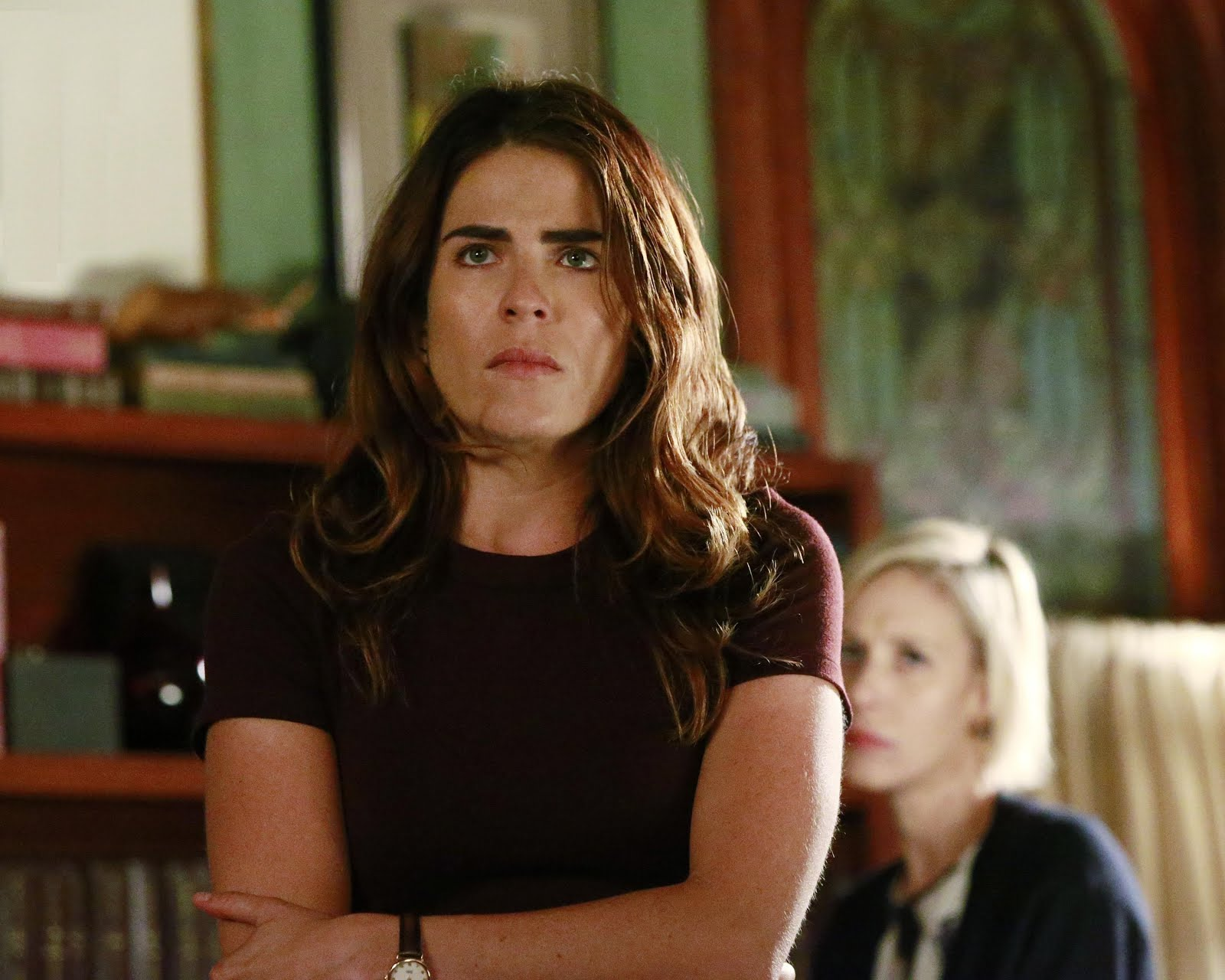 How to Get Away with Murder 3x07 Call It Mother's Intuition review htgawm Laurel Bonnie