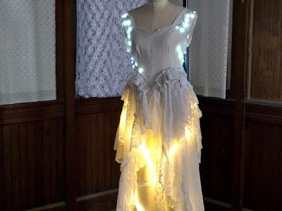 Vestidos de novia luminoso y alocado