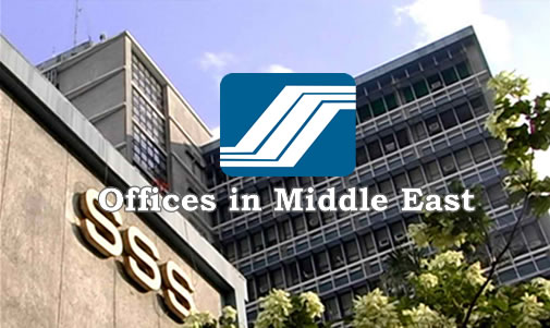 List of SSS Representative (Branches) Offices Middle East