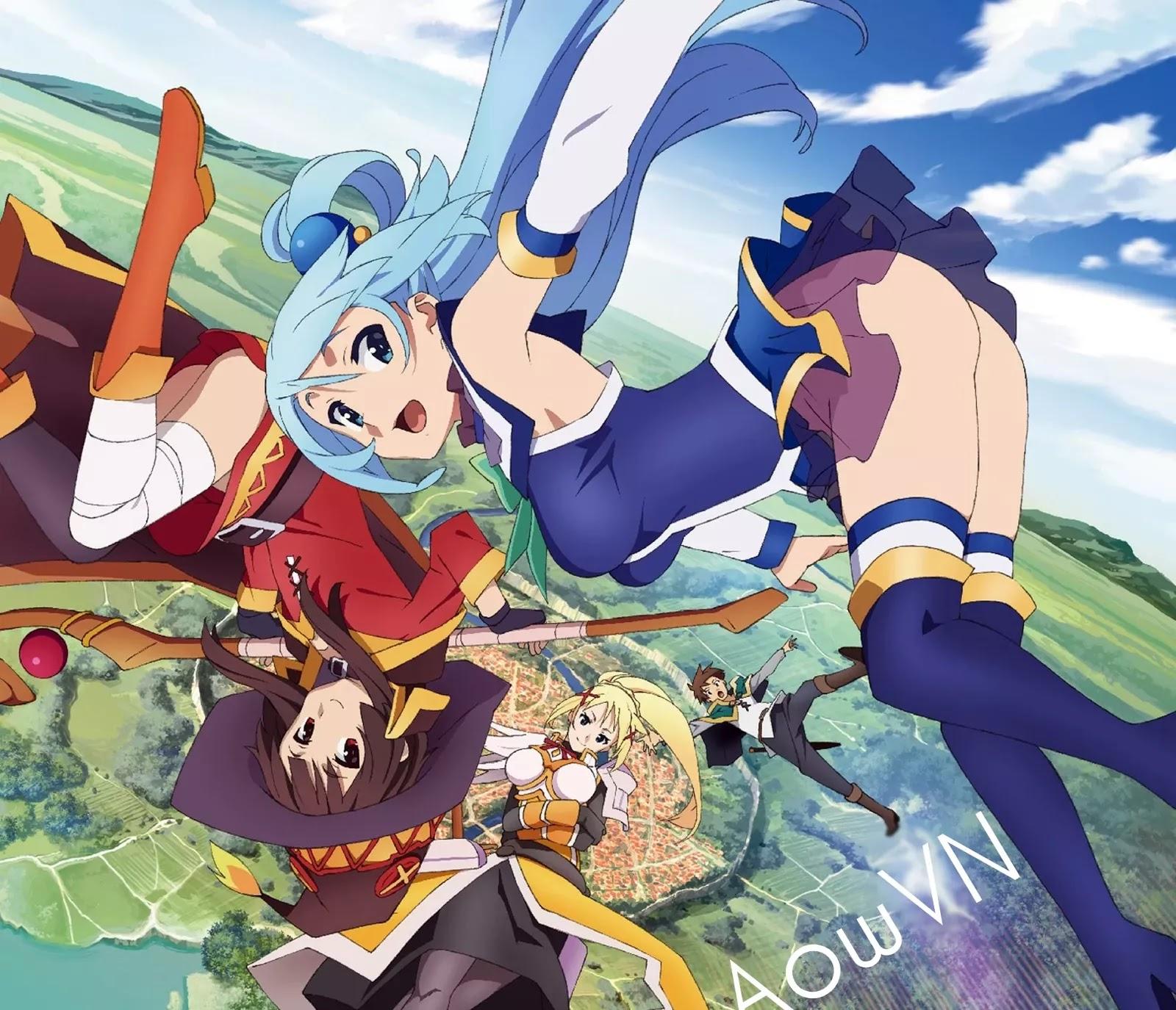 konosuba aowvn - [ Anime 3gp Mp4 ] Kono Subarashii Sekai ni Shukufuku wo! 2 + OVA | Vietsub - Cực hài