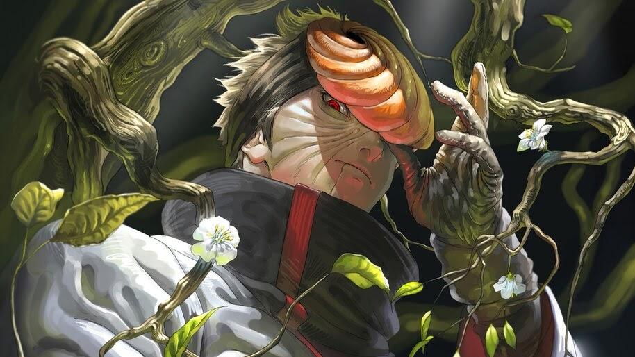 Obito Uchiha, Akatsuki, Mask, 4K, #6.1357