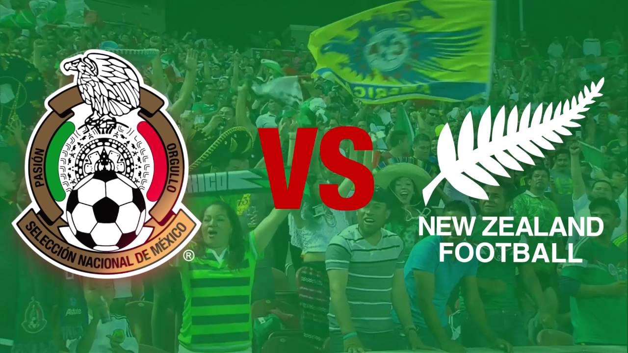 يلا شوت رابط مشاهدة مباراة المكسيك ونيو زيلندا اليوم الأربعاء 21-6-2017 بث مباشر