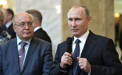 Vladimir Putin, Viktor Sadovnichy
