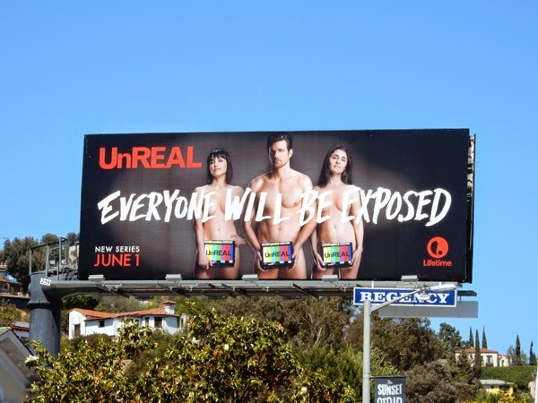 UnREAL Everyone will be exposed billboard