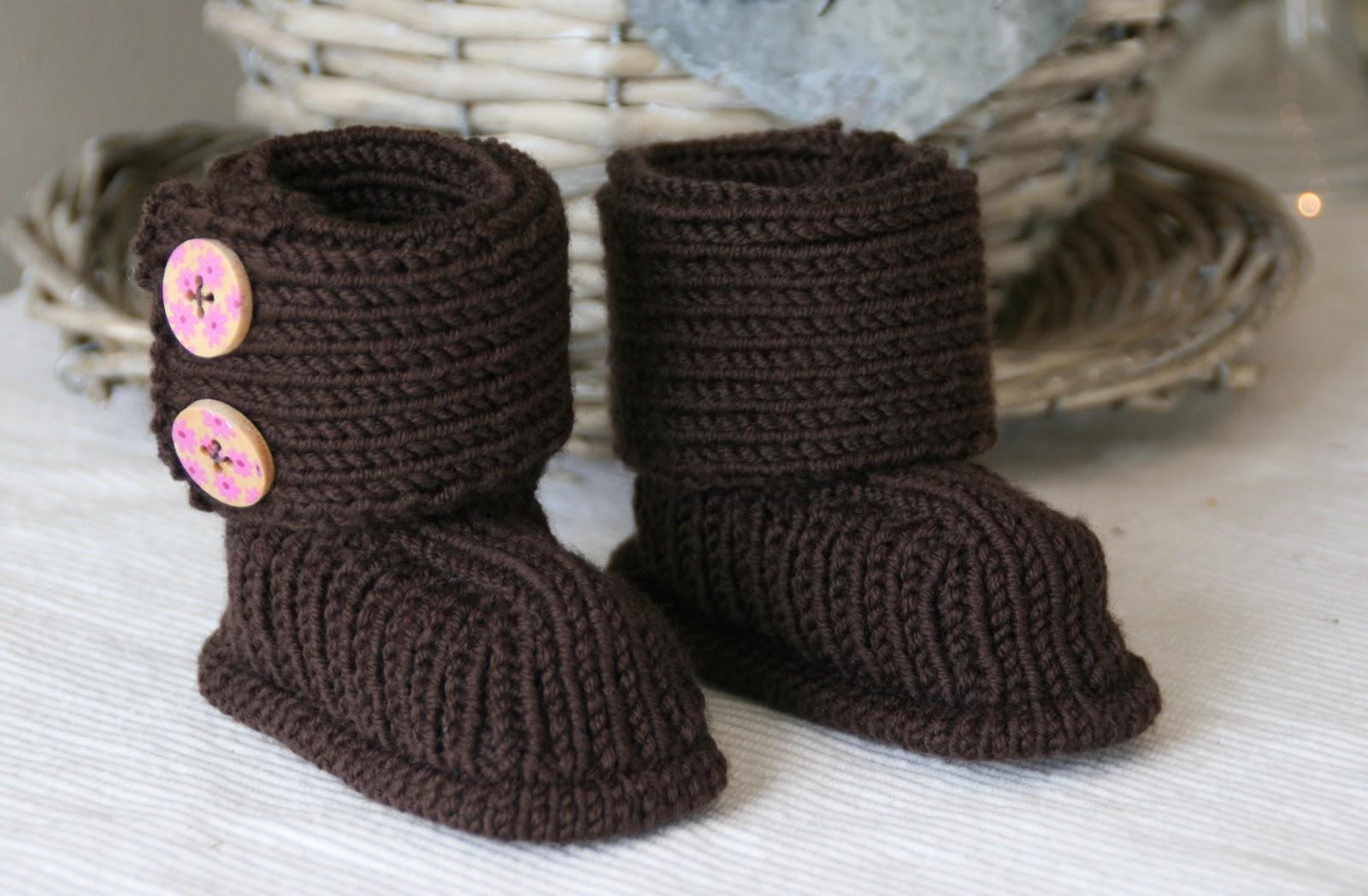 Free Knitting Patterns Baby Ugg Boots