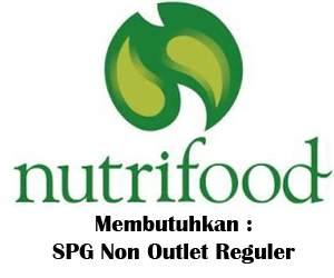Lowongan Kerja sebagai SPG Non Outlet Reguler Nutrifood