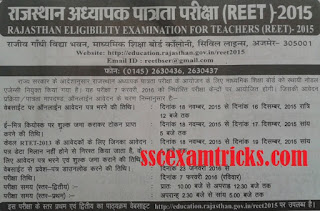 Rajasthan 15000 3rd Grade Teacher Recruitment 2015-16