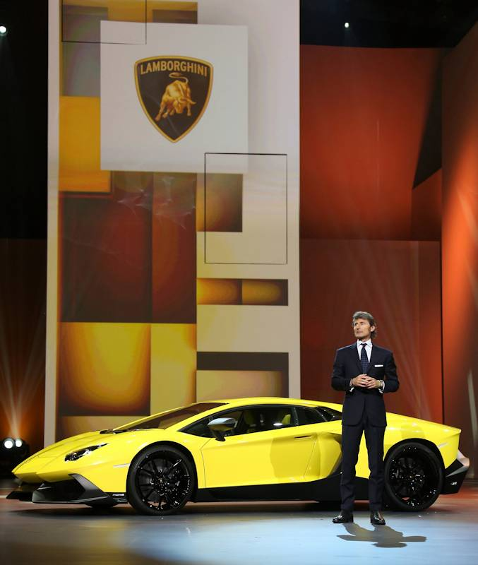 2013 Lamborghini Gallardo Interior: Auto Shanghai 2013: Lamborghini Celebrates 50 Years With