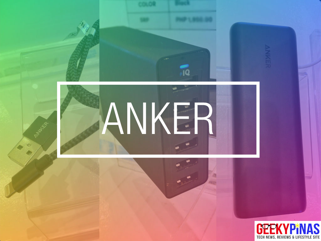 Anker Nylon Braided Lightning Cable, Powerport and PowerCore - Power Mac Center
