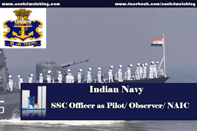SSC Officer as Pilot/ Observer/ NAIC Job 2016