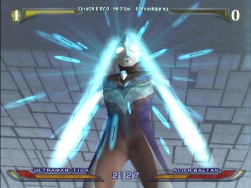 Ultraman Fighting Evolution Rebirth PS2 GAME ISO Gameplay 1