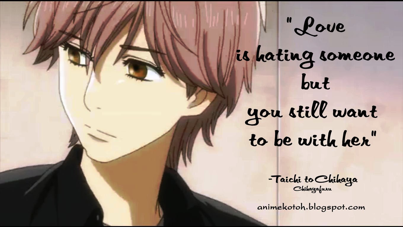 Anime Love Quotes For Her Quotesgram
