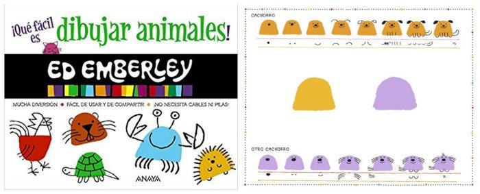 libro dibujar animales niños llevar maleta verano vacaciones recomendados