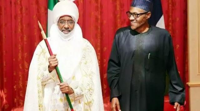 CBN illegally funding Buhari's government, says Sanusi