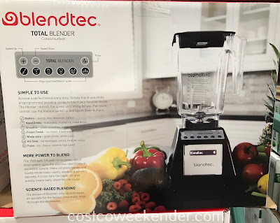 Costco 2930674 - Blendtec Total Blender with Wildside+ Jar (TB621USCOST): a necessary tool for any home cook