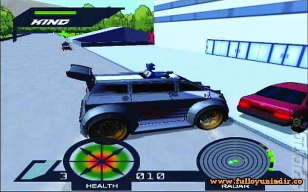 Action Man A.T.O.M. - Alpha Teens on Machines PS2