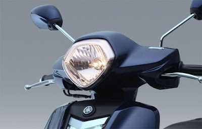 New 2016 Yamaha Nozza Grande 125cc Scooter front headlight Hd image