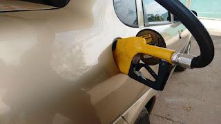 Preço da gasolina sobe