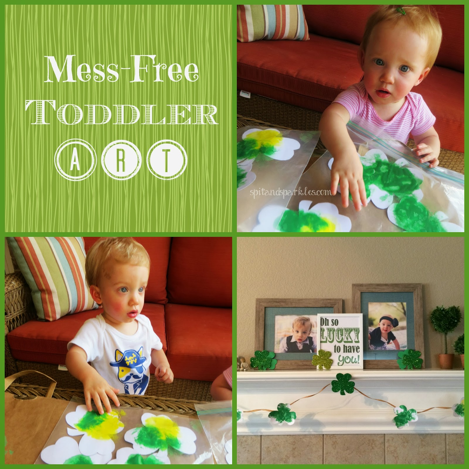 Create a mess-free art activity for your toddler by placing worksheet & paint inside a plastic baggie! #toddlerart #totschool #homeschool #messfree #paintforkids