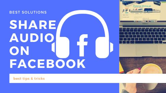 Share Audio On Facebook