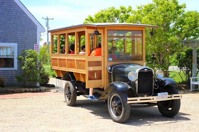 Vintage Bus   Winnetu   Martha's Vineyard
