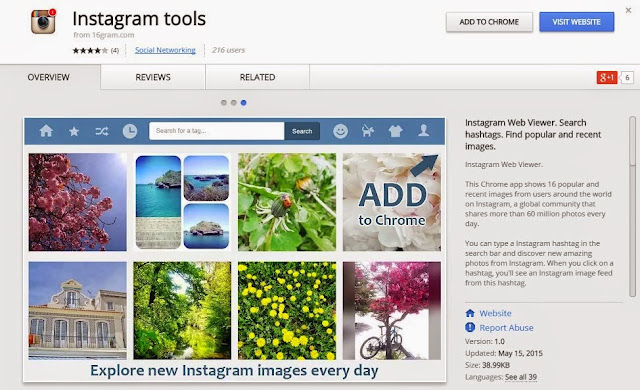 New Instagram Web Viewer with popular and recent images | SocioTrope