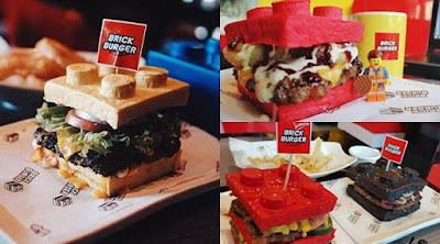 Burger Berbentuk Lego Berhasil Menarik Prehatian Warga Di Filipina