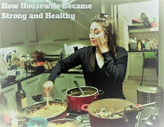 How Housewife Became Strong and Healthy, Let's Know It